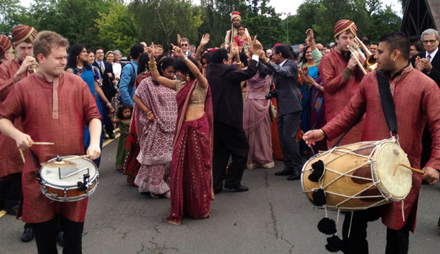 Bombay Baja, Band Baja, indian brass band, indian wedding